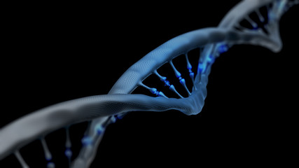 dna structure, medical research background
