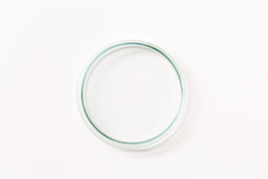 Empty petri dish
