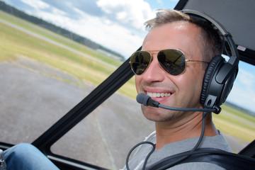 Portrait of pilot