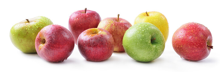 Apple varieties: renetta, annurca, stark delicious, fuji, granny smith, golden delicious, royal gala
