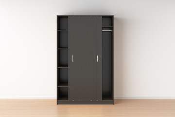Wardrobe with sliding doors