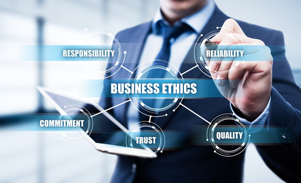 Business Ethics Integrity Responsibility Corporate Strategy Concept