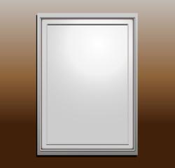 Photo Frame Template, Vector