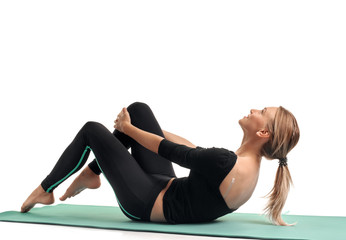 Fitness trainer woman