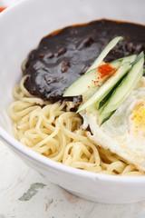 black-bean-sauce noodles