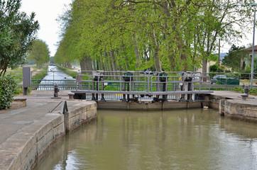 Gateway of the canal de Jonction