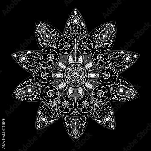 Mandala A Spiritual And Ritual Symbol In Hinduism Buddhism Representing The Universe