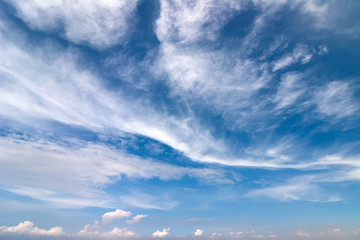 Background with bluesky and clouds