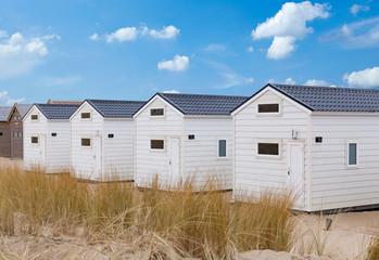 Badehäuser am Strand