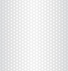 sacred geometry halftone triangle graphic pattern print