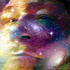 Face of universe  Some elements provided courtesy of NASA