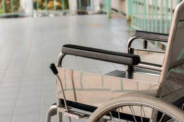 Wheelchair patients for use in hospital.