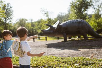 trip to the dinosaur park