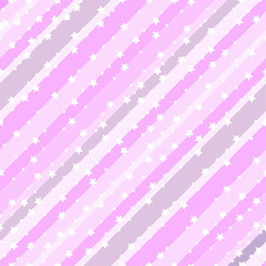Pattern stars. Vector background.