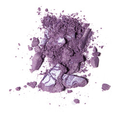 Lilac shadow close-up.