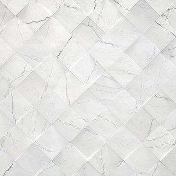 White Marble Background (3d illustration)
