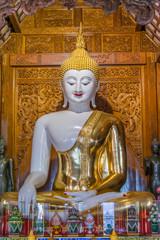 White Buddha Image