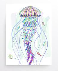 Patterned jellyfish