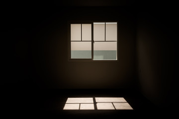Light from windows.