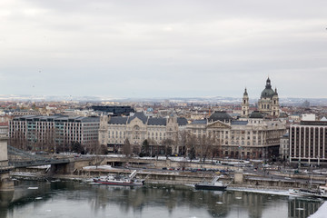 View of the city.  Budapest Hungary