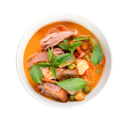 Duck curry ,Thai cuisine