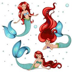 Mermaid Set .