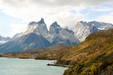 Fotobehang - Cordillera Paine - Chile