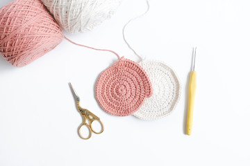 Crochet for Beginner on White Background