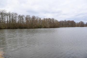 Am See sich erholen