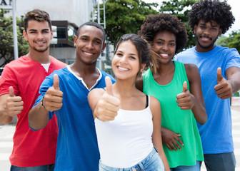 Erfolgreiche internationale Jugendgruppe