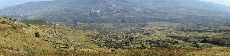 Das Rift Valley von Äthiopien in Afrika