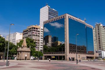 November 15 Square in Downtown Rio de Janeiro, Brazil