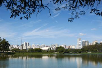 Sao Paulo Ibirapuera Park Brazil