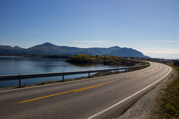 Atlantic Road in Norway Fototapete