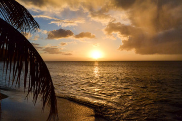 Dominica Island Sunset