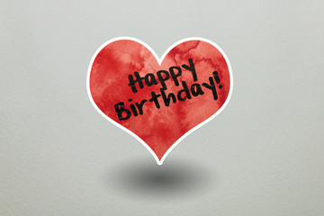 Herz Happy Birthday