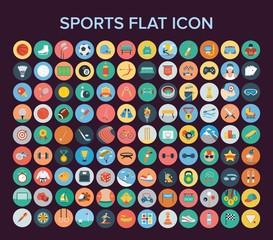 Sport Flat Icon Set