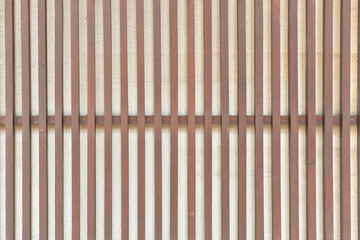 Wood slat wall texture, background