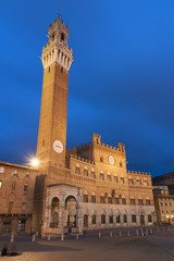 Wall Mural - Piazza del Campo in the historic center of Siena, Italy