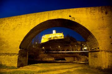 Old bridge by Church of Saint Ignatius