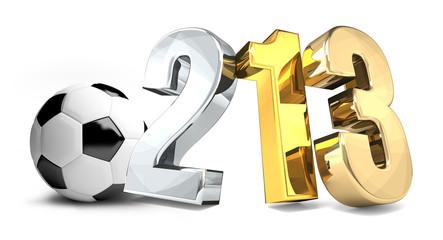 soccer football champion 3d render