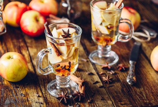 Hot Apple Cider Drink