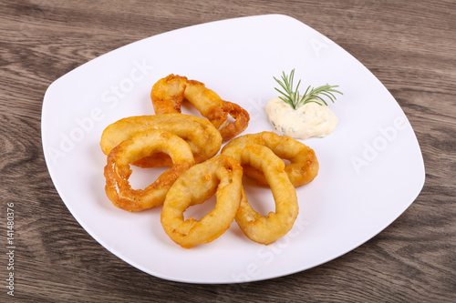 """Squid Tempura"" photo libre de droits sur la banque d ..."
