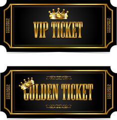 Golden and VIP tickets