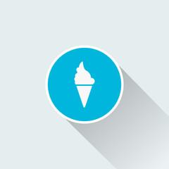 flat icecream icon