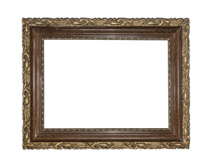 Classic frame isolated.