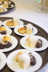 Tasty sweet dessert