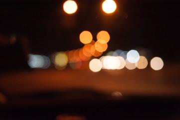 Photo Bokeh light blur