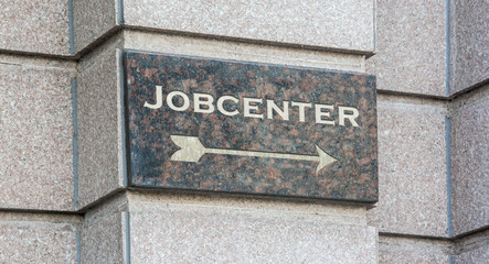 Schild 204 - Jobcenter