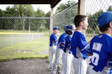Young baseball team